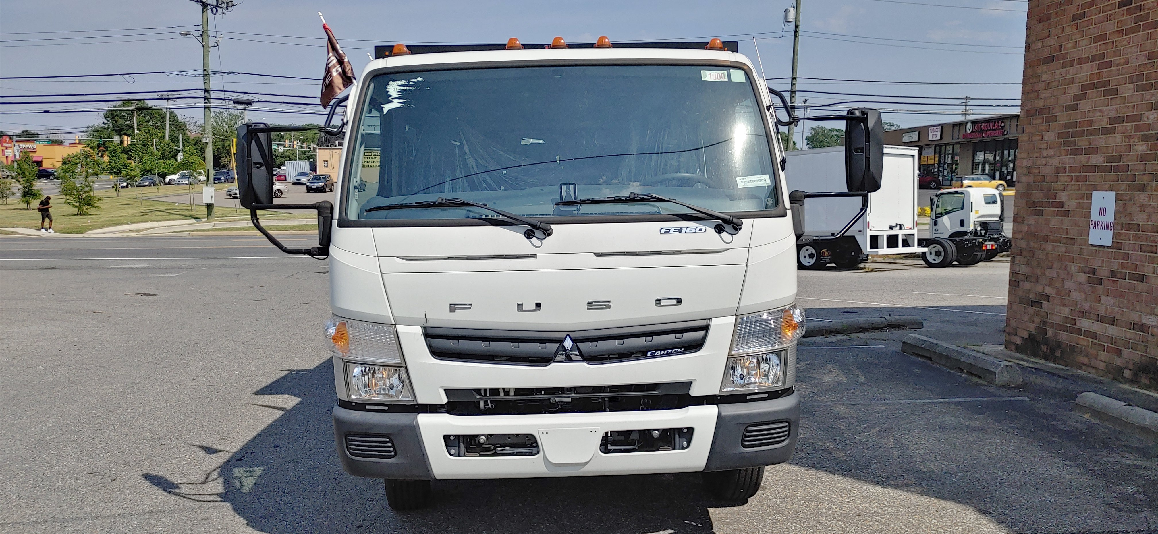 New 2017 Mitsubishi FE160 with Dump Body Crew Cab Recently Discounted 20200604_154533_HDR-e1591303206725-762x456