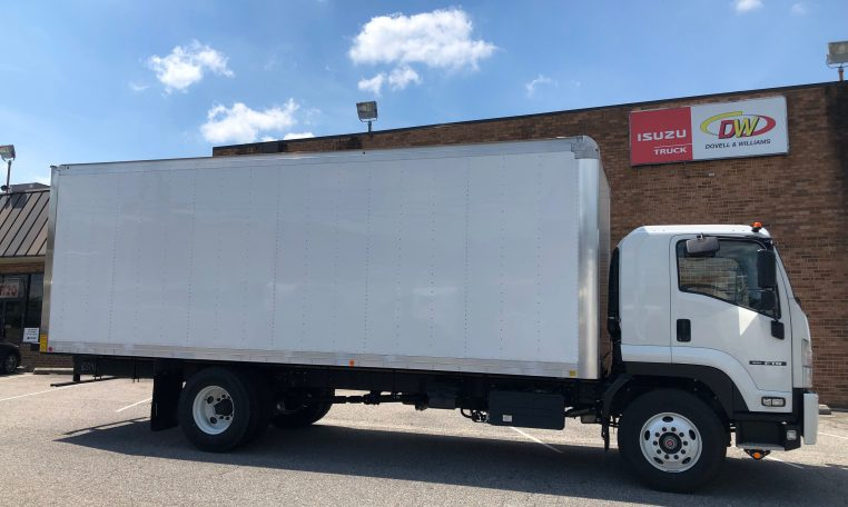 """Thumbnail : 2018 Isuzu FTR with a 24' Mickey Body and 212"""" Wheelbase, 3 Year Untimited mile Warranty, 3 Year 24hr roadside Assistance, IMG-8052-762x456"""